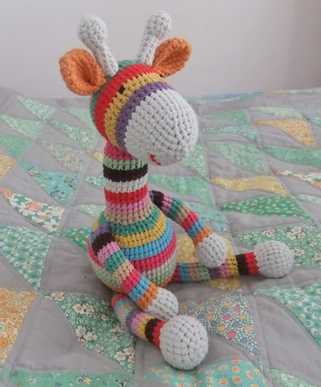 Crochet Free Pattern Giraffe : Crochet Giraffe by Emmakd27 Off The Hook! thread designs ...